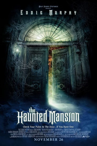 The Haunted Mansion Font
