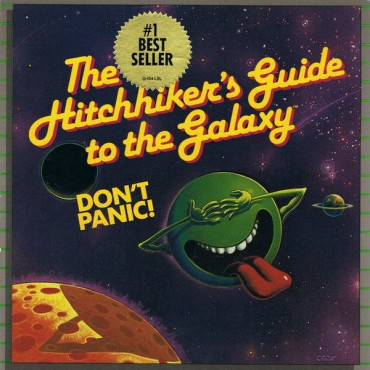 The Hitchhiker's Guide to the Galaxy Font