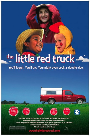 The Little Red Truck Font