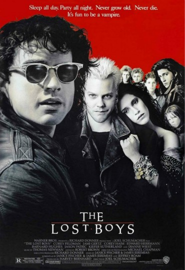 The Lost Boys (film) Font