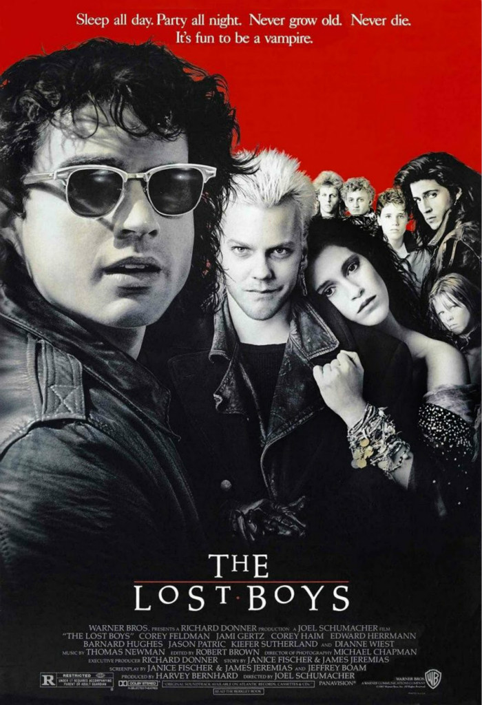 The Lost Boys font