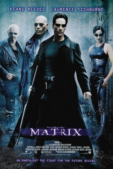 Matrix-Schriftart