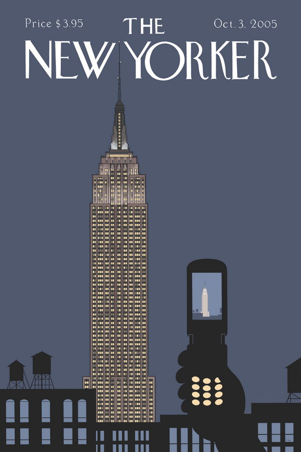 New Yorker font...