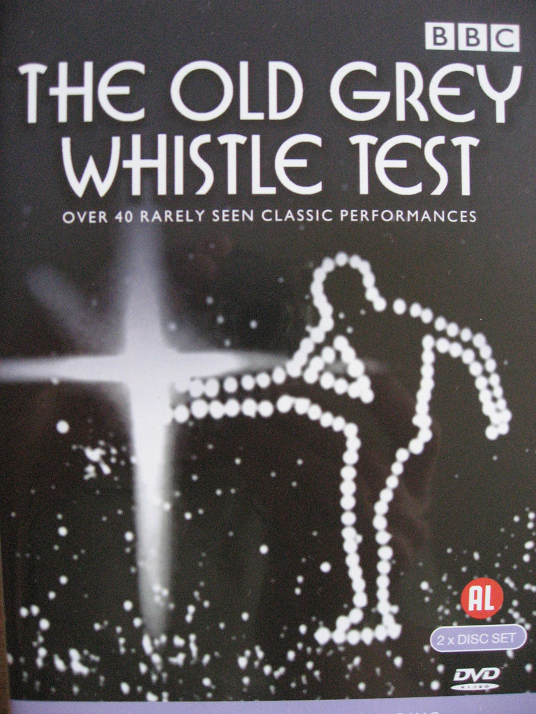 The Old Grey Whistle Test font