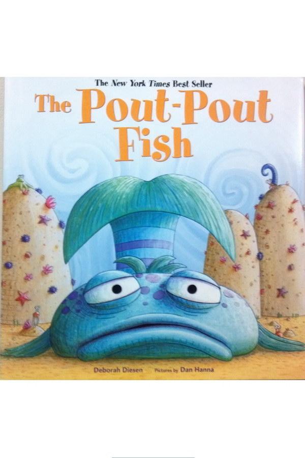 The pout pout fish font for The pout pout fish book