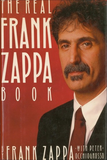The Real Frank Zappa Book Font