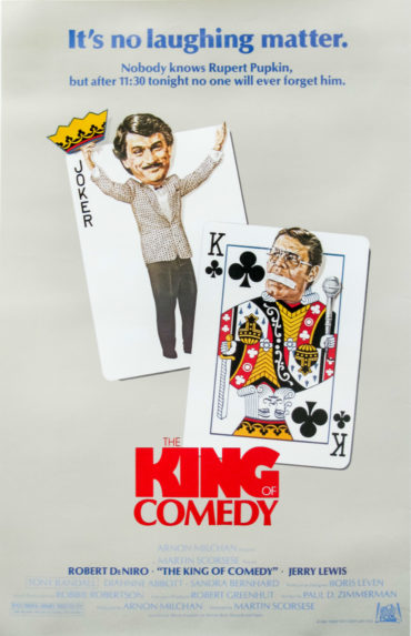 The King of Comedy Font