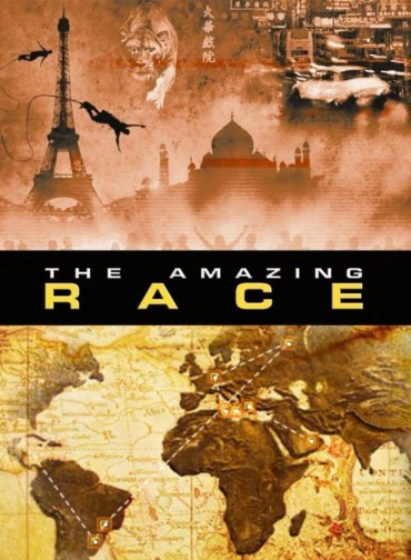 The Amazing Race (TV Show) Font