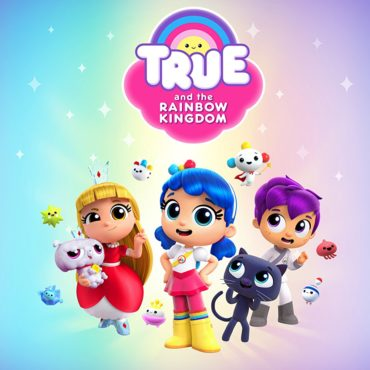 True and the Rainbow Kingdom Font