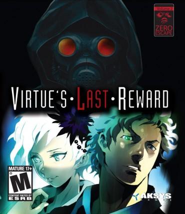 Virtue's Last Reward (Video Game) Font
