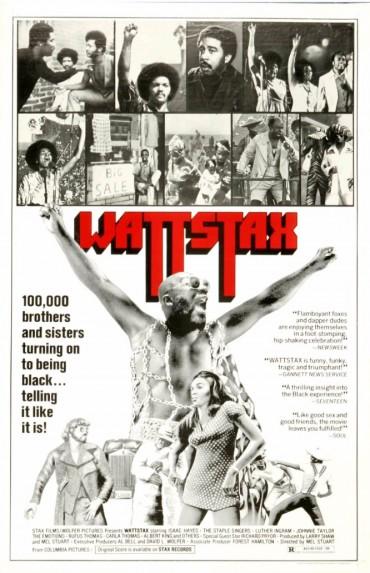 Wattstax (film) Font