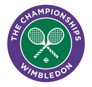 Wimbledon Logo Font