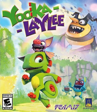 Yooka-Laylee Font