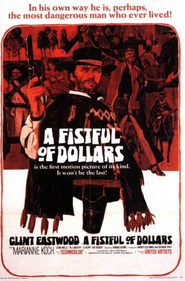 A Fistful of Dollars Font