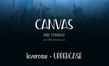 Canvas – Free Handmade Display Font