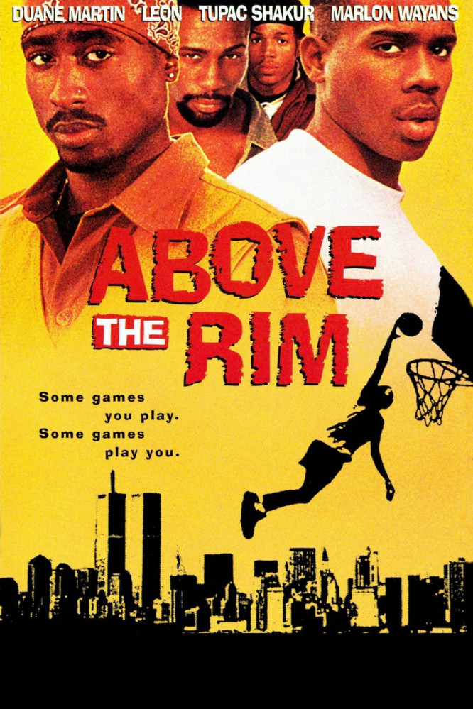 above the rim font