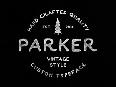 Parker – Handmade Vintage Font