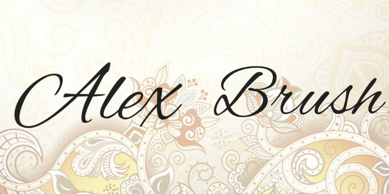 alex-brush-font