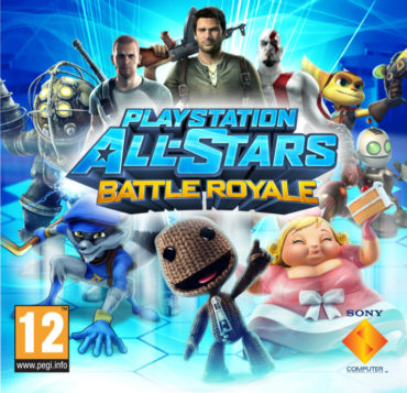 PlayStation All-Stars Battle Royale Font