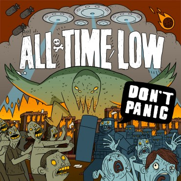 All Time Low Font