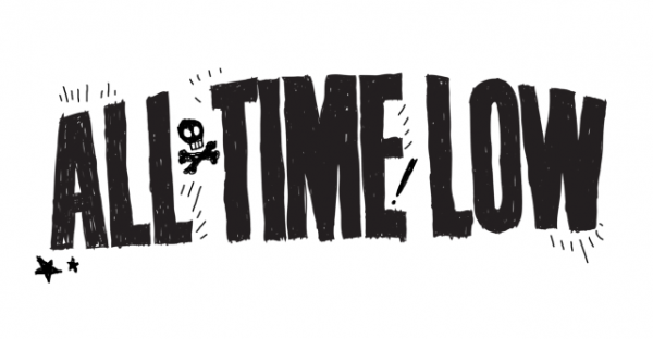 all time low logo font