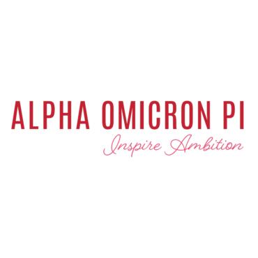 Alpha Omicron Pi Font
