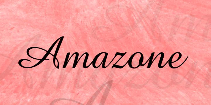 amazone-font