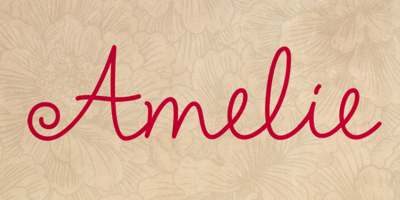 amelie-font