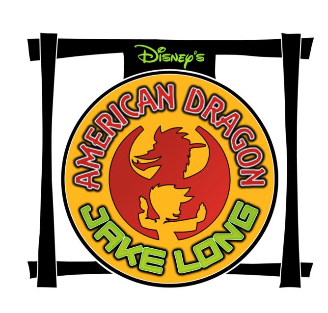 american dragon jake long logo font