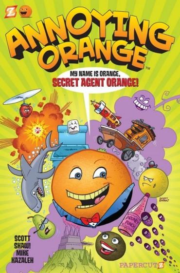 The Annoying Orange (web series) Font
