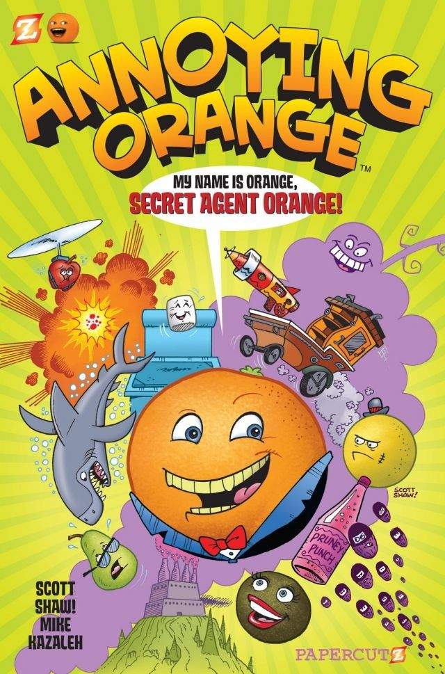 the annoying orange web series font