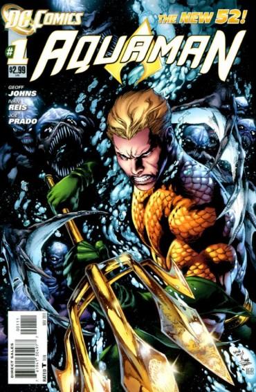 Aquaman (comics) Font