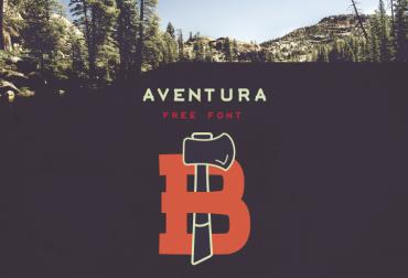 Aventura – Free Display Font