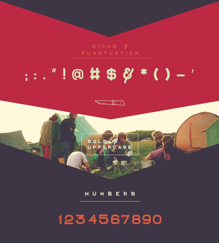 Aventura – Free Display Font Poster C