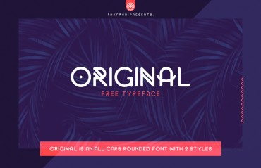Original – Free Rounded Font