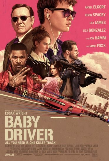 Baby Driver (film) Font