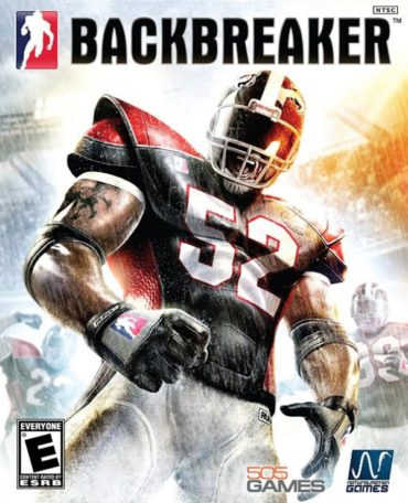 Backbreaker (video game) Font