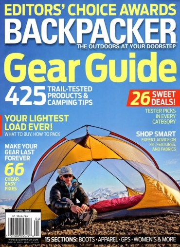 Backpacker (Magazine) Font
