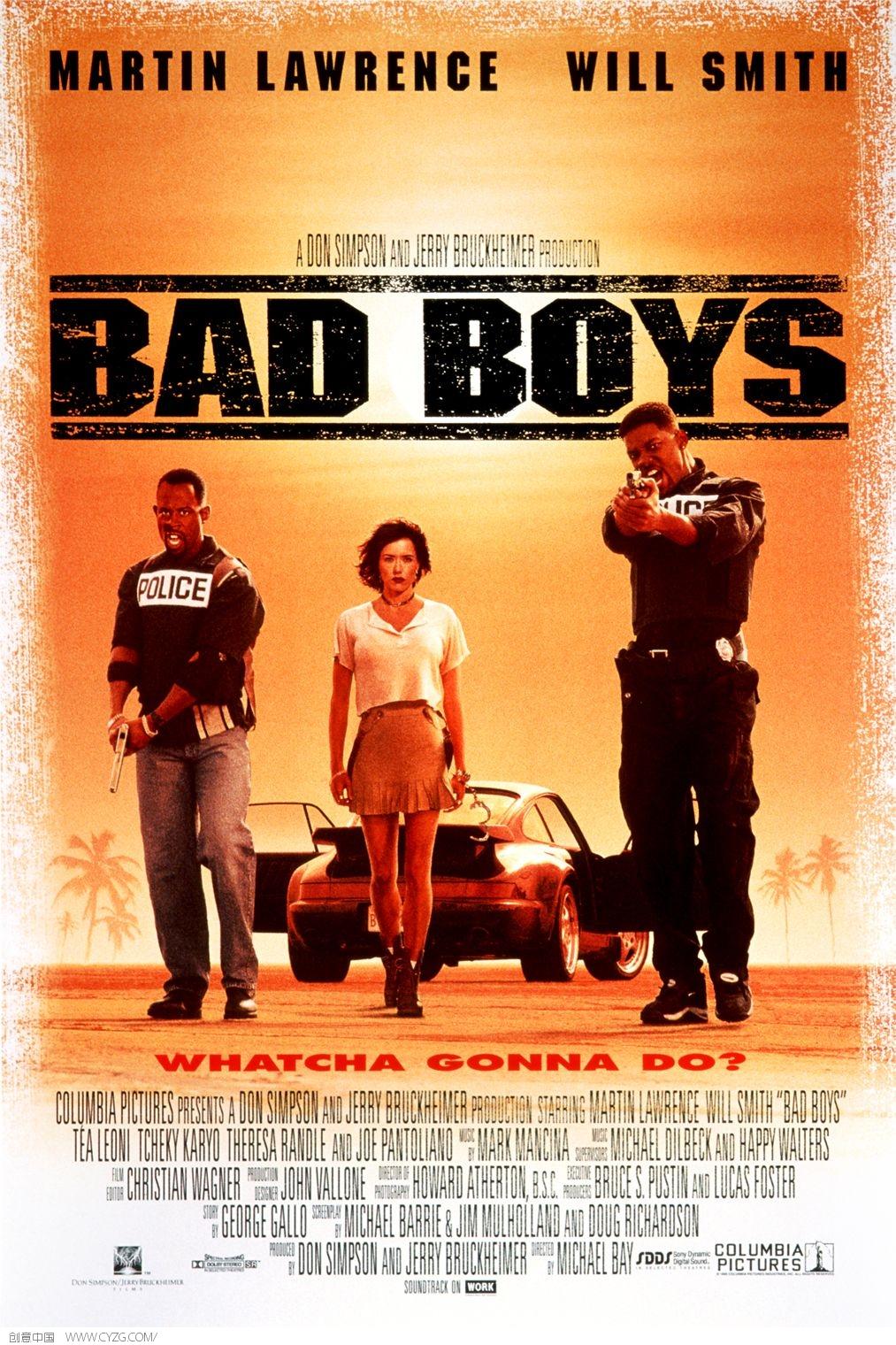 bady boys font