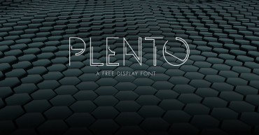 Plento – Free Abstract Font