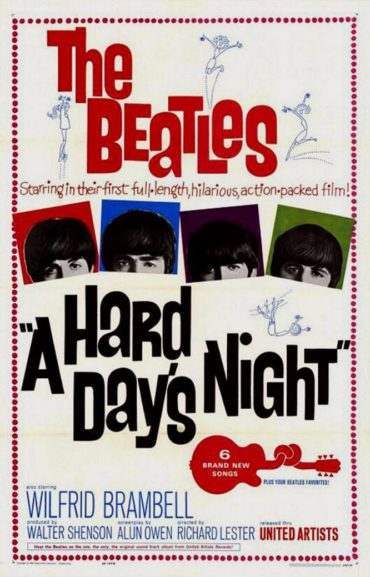 A Hard Day's Night Font
