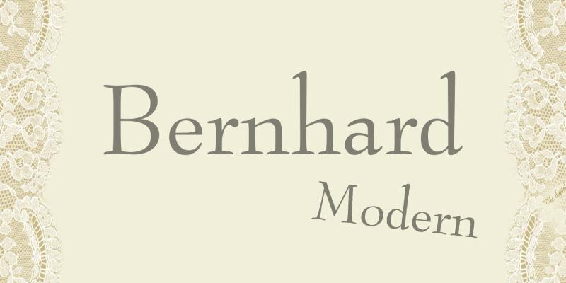 bernhard-modern-font