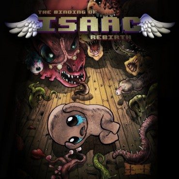 The Binding of Isaac (Video Game) Font