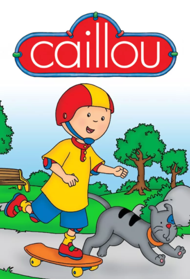 Caillou (TV series) Font