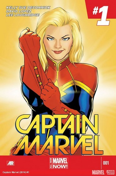 Captain Marvel Font