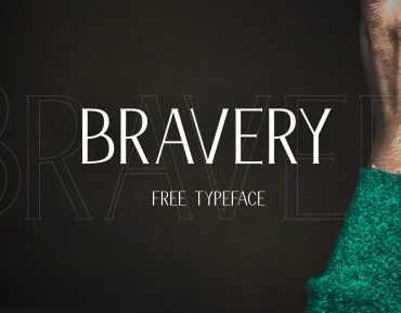 Bravery – Free Display Font