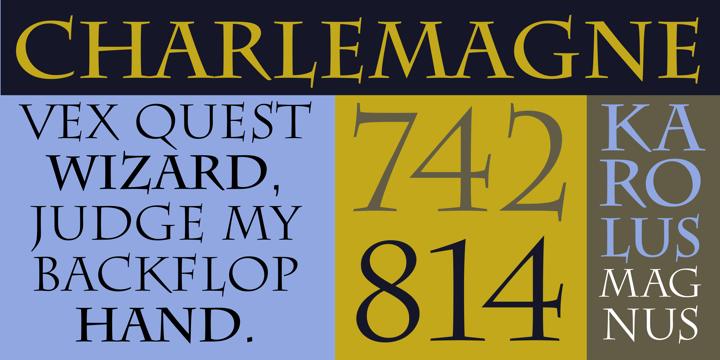 charlemagne font