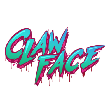 Clawface (video game) Font