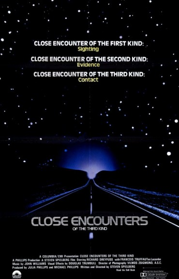 Close Encounters of the Third Kind Font