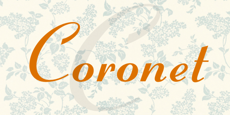 coronet-font